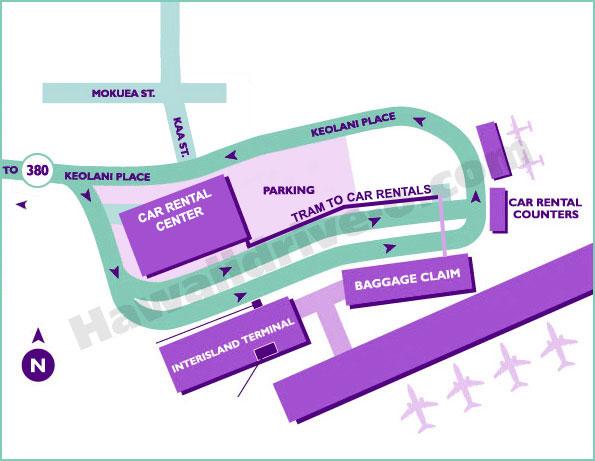 Lahaina Rental Car Locations